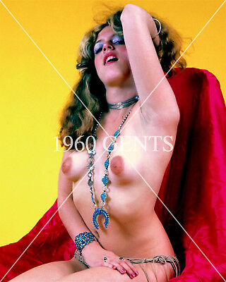 1960s NUDE 8X10 PHOTO OF BIG NIPPLES UNKNOWN PINUP FROM ORIGINAL NEG CLOSEUP 2