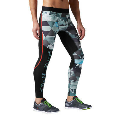 312ae3dae4d7f Men's Running Tights Reebok One Series Elite Tight Wicking PlayDry Running  Pants