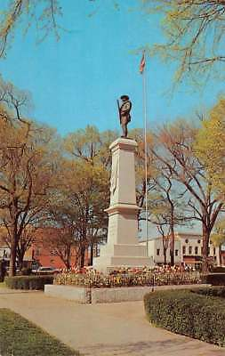 Shelby North Carolina Court House Confederate Monument Postcard K84531
