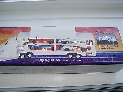 1995 Exxon Toy Race Car Carrier, 4Th In Series