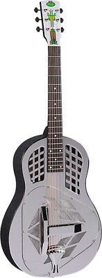 Regal RC-51 Tricone Resonator Gitarre,Glocke Messingkörper,spinne. ab Hobgoblin