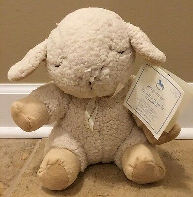NEW Pottery Barn Baby Kids Soothing Sounds Sleep Plush SHEEP