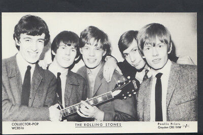 Music Postcard - Music Legends - The Rolling Stones   DP216