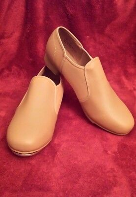Theatricals Brand (Women's Size 10.5) Slip on Tap Shoes - Style T9100 - EUC