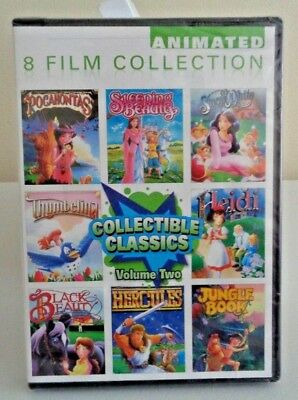 Collectible Classics Animated 8 Film Collection, Vol. 2 (DVD, 2012, 2-Disc Set)