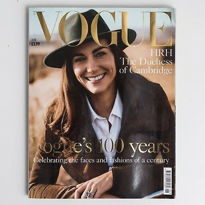 VOGUE UK British June 2016 100 years edition Kate Middleton NEW Listing 1