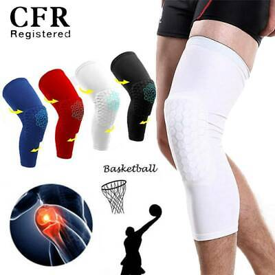 Youth Basketball Knee Support Pad Honeycomb Leg Long/Elbow Sleeve Brace Support