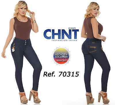 CHNT Authentic Colombian Push Up, Originales Jeans Colombianos, Levanta Cola