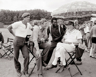 John Huston, Michael Caine and Sylvester Stallone photograph - L2177 - Victory