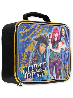 "Disney Descendants ""Trouble Is Here"" Insulated Lunchbox - black, one size"