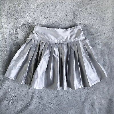 Baby Gap, Pleated Silver-Grey Party Skirt, 12-18m
