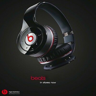Beats By Dr. Dre Solo Hd Black Original Wired On-Ear Headphones 🎧