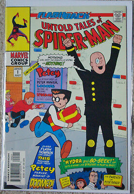 Untold Tales of Spider-Man 1997 Comic Book Issue Minus 1 VG, Rare Var. cover