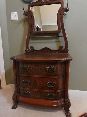 Antique Repro Pulaski Washstand w/Mirror