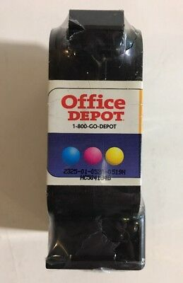 Office Depot 3-Color Ink Cartridge Replacement ~Replaces HP 23 Brand New