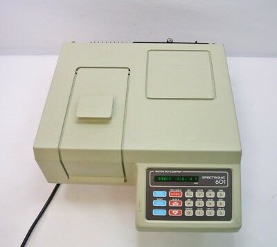 Milton Roy Spectronic 601 Spectrophotometer UV/ Vis, Tested & Calibrated