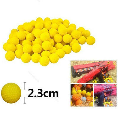 Round Compatible For Nerf Rival Apollo Toys Gun Refill Bullet Balls 50-100 lot