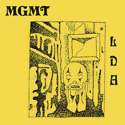 "MGMT Little Dark Age 2018 Art Poster 32x32"" 24x24"" Album Music CD Print Silk"