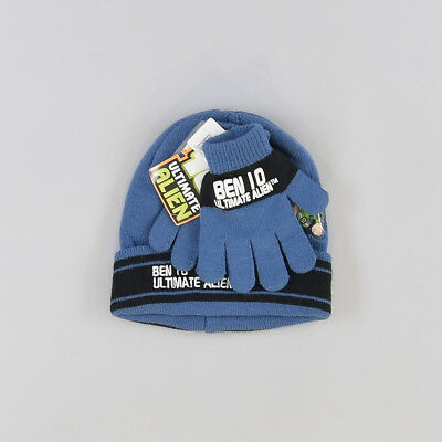 Gorro y guantes color Azul marca Cartoon Networks 2 Años  201142