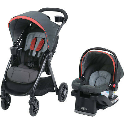 Graco® FastAction DLX Travel System in Solar Red Brand New!! Free Shipping!!