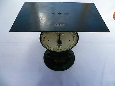 Old Very Rare Large Victorian Railways, Salter No.55 Luggage Scales Very Nice