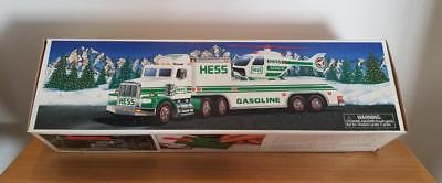 1995 HESS Toy Truck with Helicopter in Original Unopened Box ~ FREE SHIPPING!