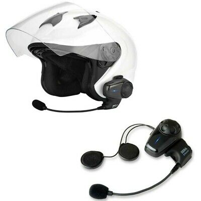 Casque Audio Et Intercom Bluetooth Sena Smh10 Pour Moto