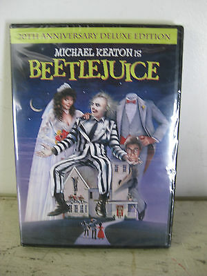 Beetlejuice (20th Anniversary Deluxe Edition) DVD Format FREE SHIPPING Classic