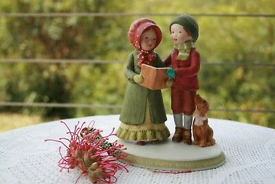 Holly Hobbie Figurine 1979 Joy to the World - Limited Edition Only 6,000 made