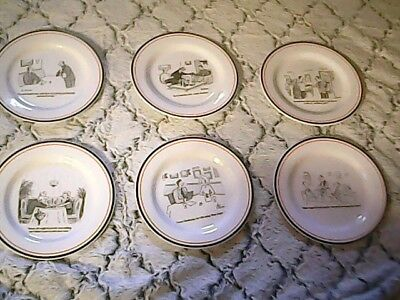 The New Yorker Cheese Plates Restoration Hardware Cheese Plates Set of 6 in Box & THE NEW YORKER Bar Cartoon Cheese Plates (Set Of 6) With Custom Box ...