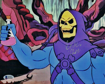 Alan Oppenheimer Signed Skeletor 8X10 Photo Masters Of The Universe 21441 Bas