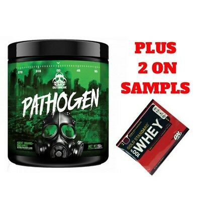 Outbreak Nutrition Pathogen Pre Workout -Berry Flav- Like Total War High Energy