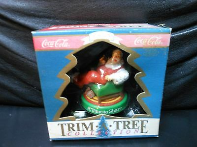 "Coca Cola ""1958 A Time To Share"" 1991 Trim A Tree Collection Ornament NEW"