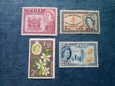 Album Treasures Fiji Scott #146- sc#160- sc#184  sg#297   MH