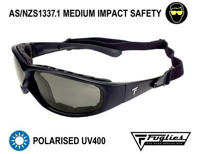 Fuglies PP01R Safety Sunglasses - ASNZS1337 Polarised Tinted Safety Glasses