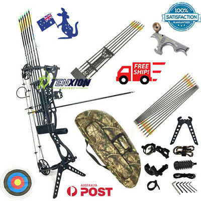 Professional TenXion Archery Full Kit 35-65LBS Left Right Handed Compound Bow