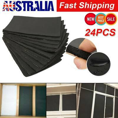 24 Sheets Car Van Sound Proofing Deadening Insulation Closed Cell Foam 10mm