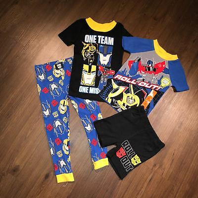 Transformers Robots in Disguise 4-piece loungewear set (sizes 2T,3T,4T)