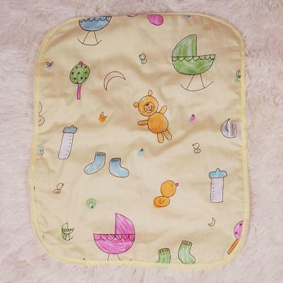 Breathable Baby Urine Mat Infant Diaper Nappy Bedding Pad Waterproof Reusable AA