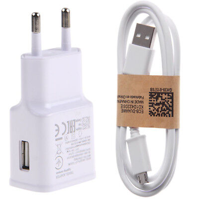 Rapide Chargeur Mural USB Câble Adaptateur Voyage Pour Samsung Sony LG Huawei