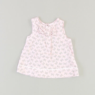 Blusa color Rosa marca Chicco 6 Meses  135044