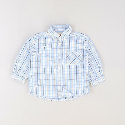 Camisa color Azul marca Pick Ouic 24 Meses  187113