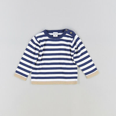 Jersey color Azul marca Newness 9 Meses
