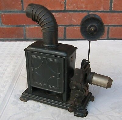Ernst Planck Vintage Tinplate Hand Operated Toy Film Projector C.1920's ?