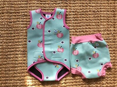 Splash About Baby Wrap 6-18 Months And Happy Nappy Xlarge