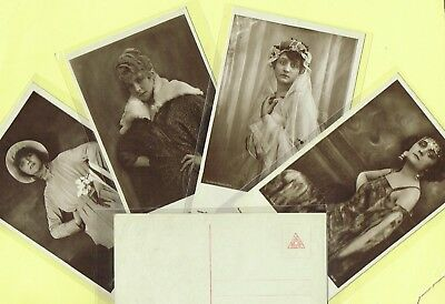ROSS VERLAG - 1920s Film Star Postcards produced in Germany #266 to #299