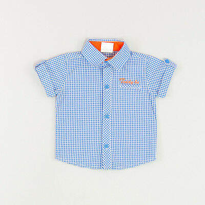 Camisa color Azul marca Vicdam 9 Meses  167393