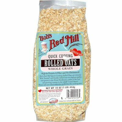 bobs red mill oats rolled quick org 32 oz pack of 4