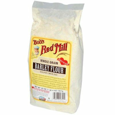 BOBS RED MILL, FLOUR BARLEY, 20 OZ, (Pack of 4)