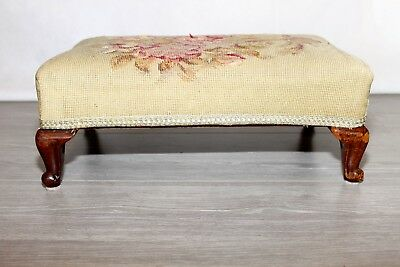Antique Victorian Needlework Stool